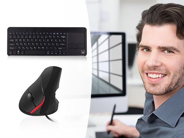 Billentyűzetek és egerek (Ewent) vezeték nélkül - prémium minőség, kifinomult dizájn, 2 év garancia