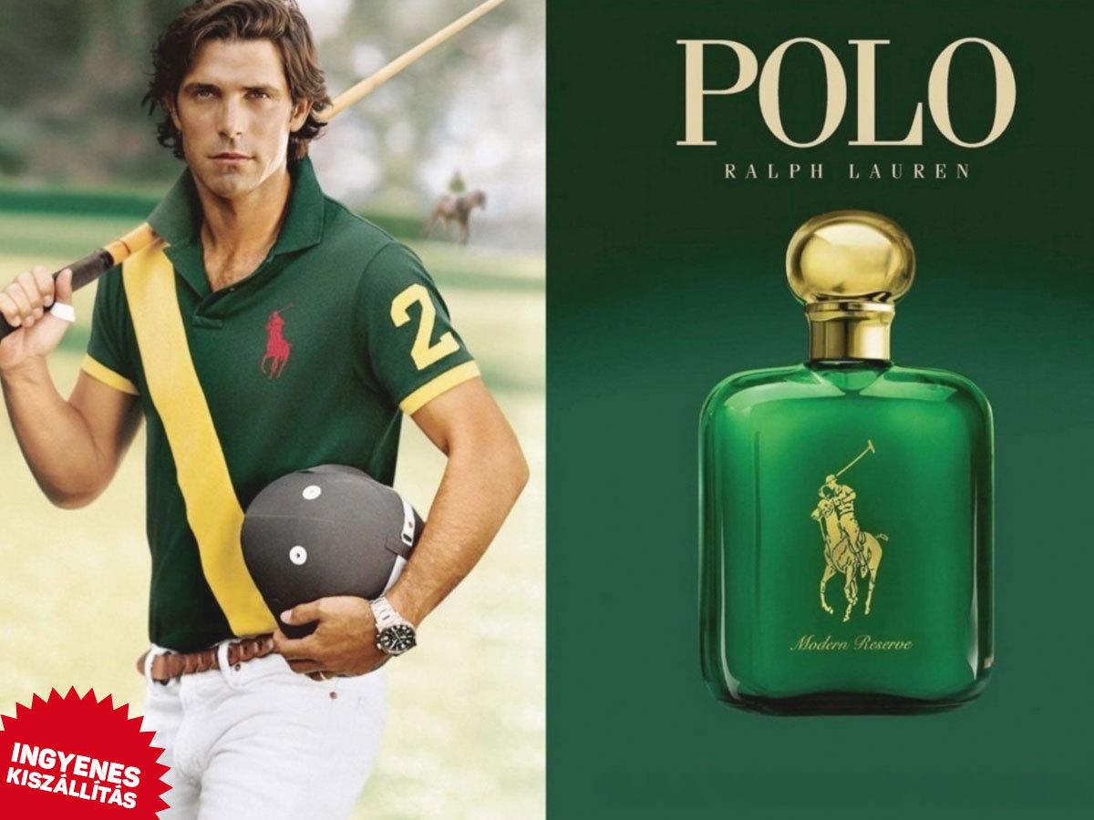 Ralph Lauren - Polo EDT Classic (Green) férfiaknak (118ml) ingyenes kiszállítással! Erős, fás, száraz illat,