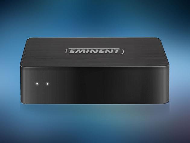 Eminent EM7415 WiFi Audio Streamer USB, MicroSD, EZCast / Frissítsd sztereó installációdat WiFi-vel és stream-eld zenéidet vezeték nélkül!