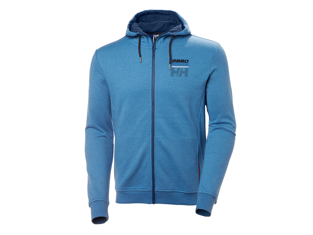 Helly Hansen CLUB FZ HOODIE BLUE WATER XL (33936_503-XL)