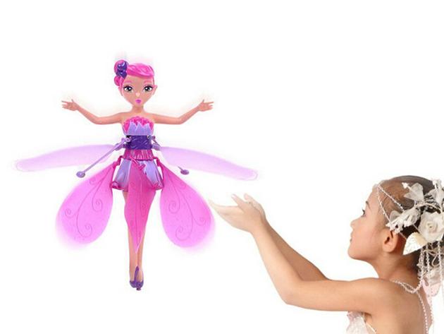 Repülő tündér, minden kislány álma - könnyen irányítható és élvezetesen repül, tölthető akkumulátorral rendelkezik