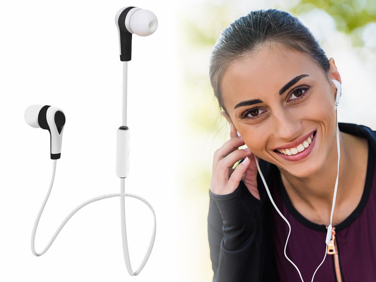 Bluetooth vezeték nélküli fülhallgató - prakitus stereo headset dizájnos kivitelben, mely segítségével mindig elérhető lehetsz