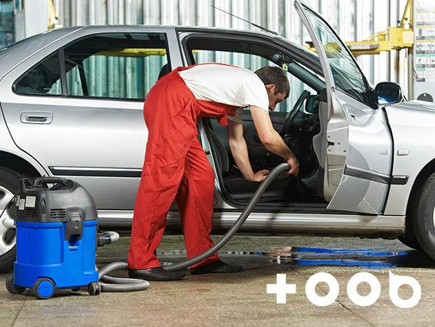 Külső és belső autótisztítás + üléskárpit tisztítás a TOOB&VELOX Autómosó és Gumiszerviznél / IX. kerület