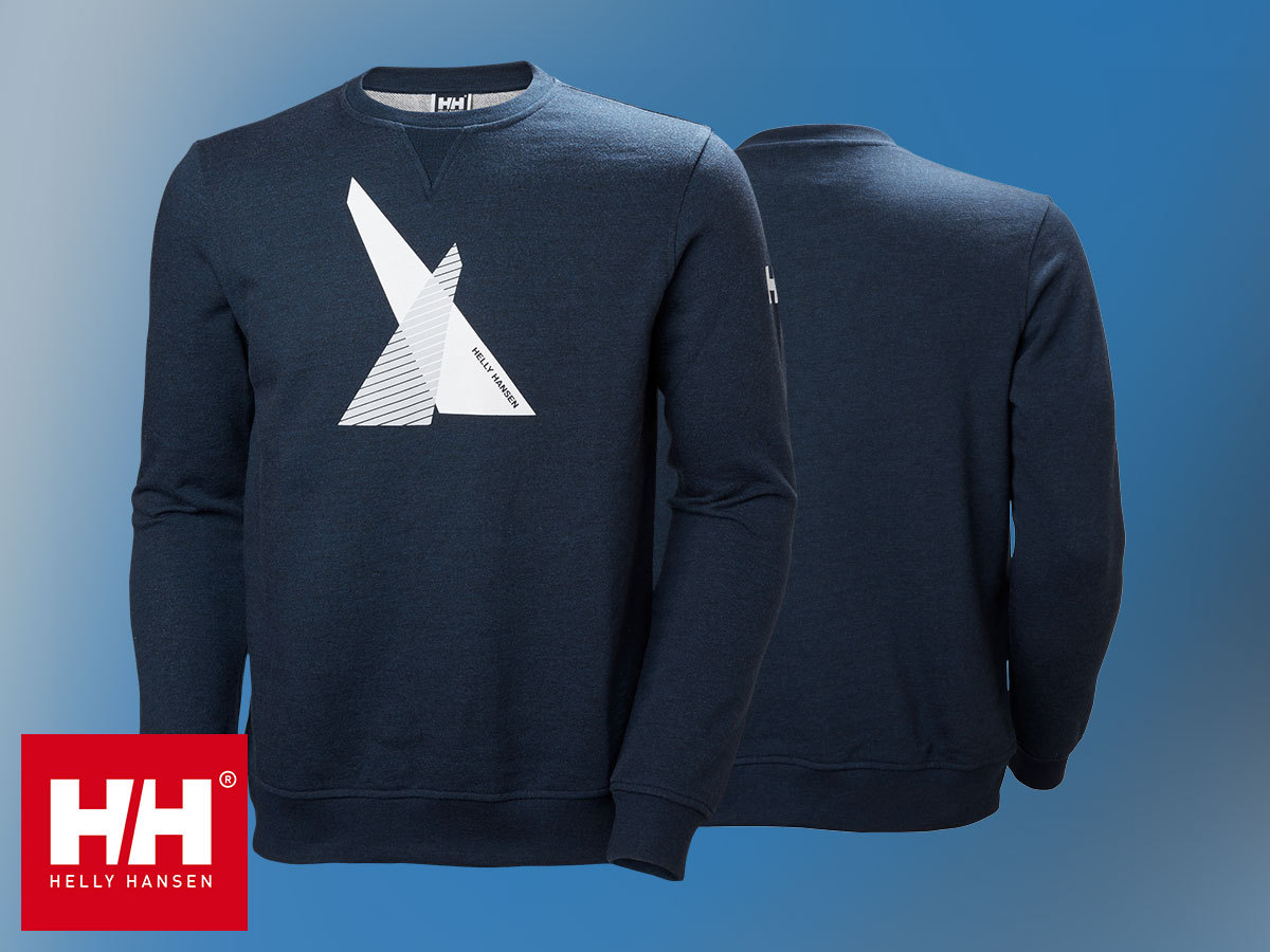 Helly Hansen HP SHORE FRENCH TERRY SWEATER férfi pulóver 100% pamut anyagból (S-XXL)