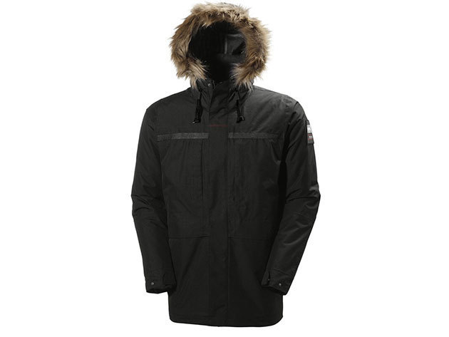 Helly Hansen COASTAL 2 PARKA - BLACK - XXXXL (54408_990-4XL )