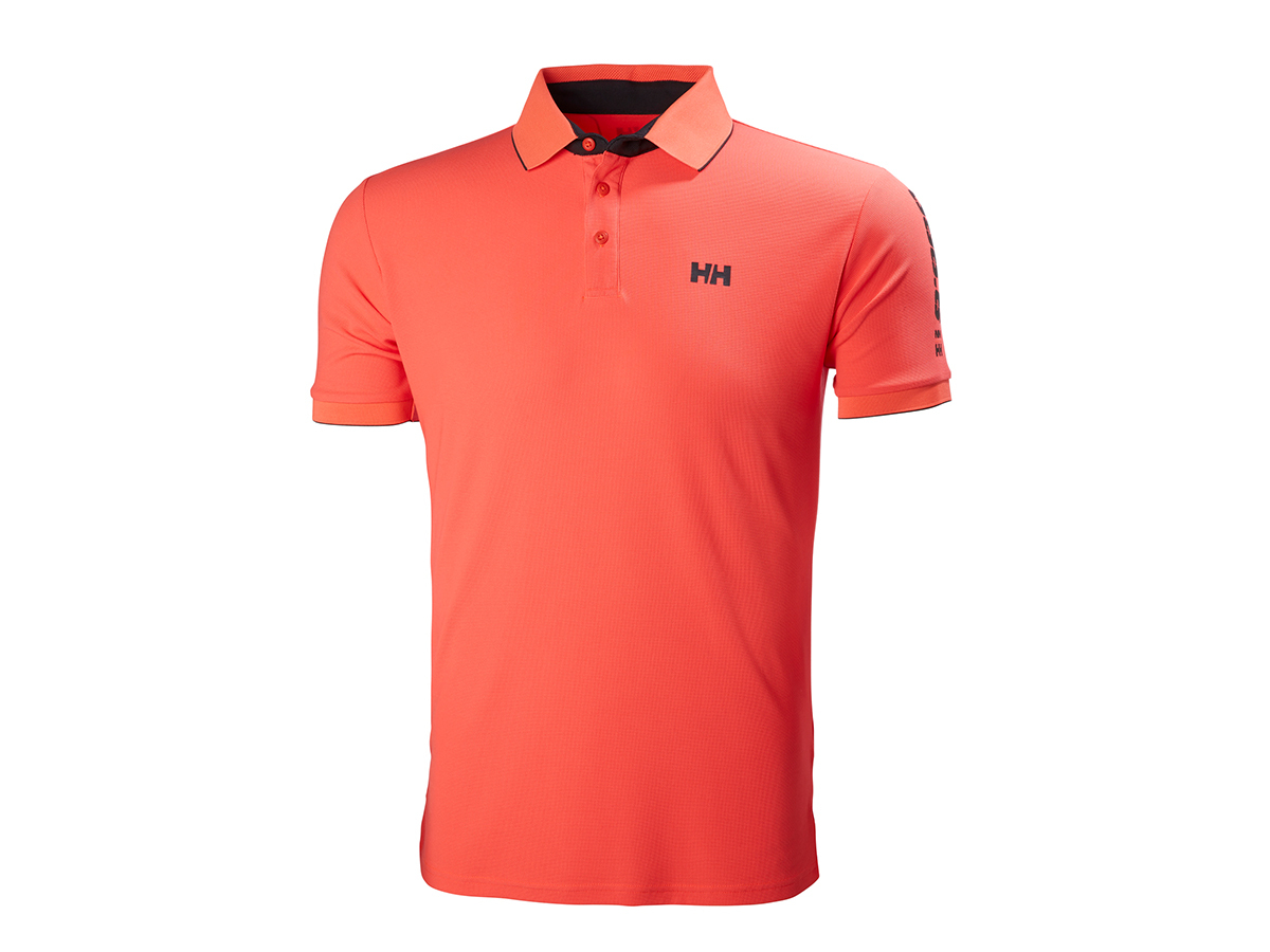 Helly Hansen HP RACING POLO NEON CORAL M (53012_247-M)