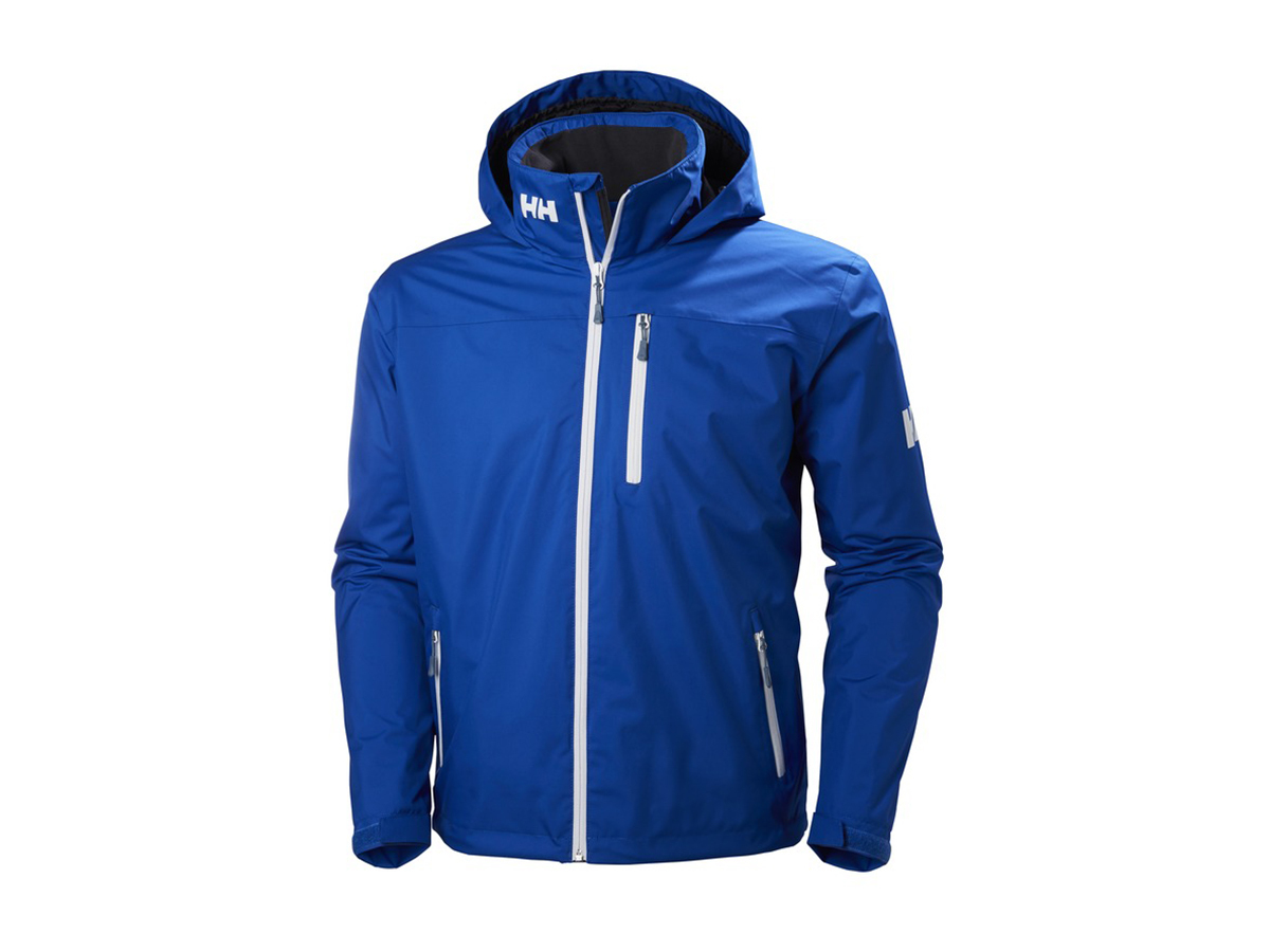 Helly Hansen CREW HOODED MIDLAYER JACKET OLYMPIAN BLUE XS (33874_563-XS)