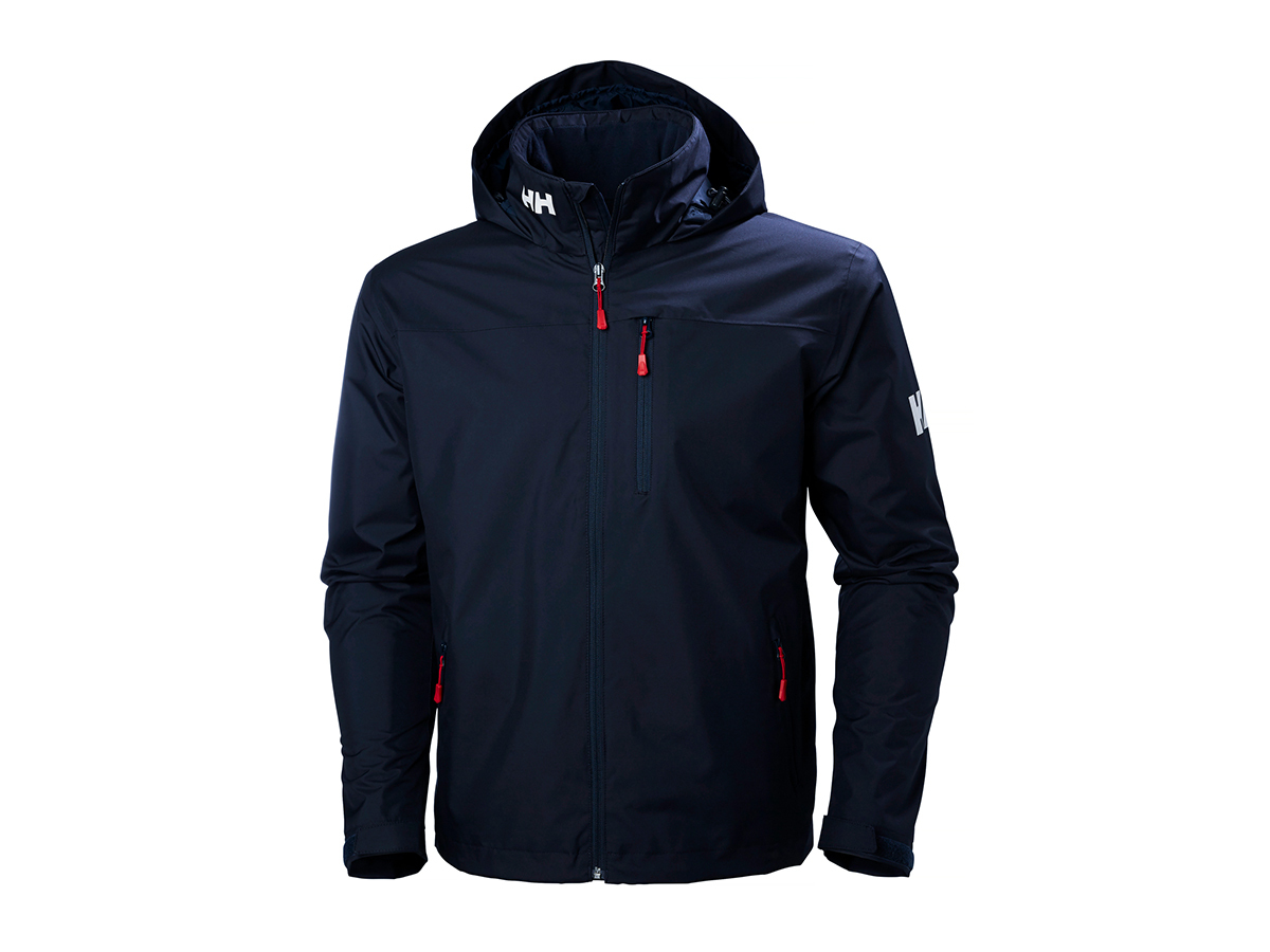 Helly Hansen CREW HOODED MIDLAYER JACKET NAVY XL (33874_597-XL)