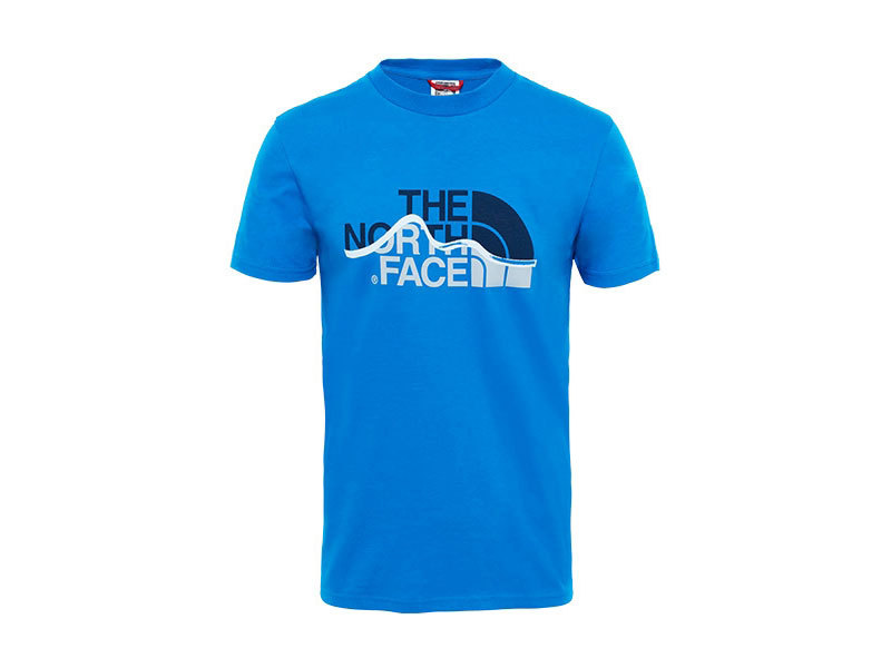 The North Face férfi póló  MOUNT LINE TEE BOMBER BLUE - T0A3G2F89 (UTÁNRENDELÉSRE) - M