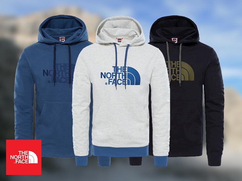 The North Face® Drew Peak Pullover Hoodie és Open Gate Hoodie - kapucnis pulóverek férfiaknak