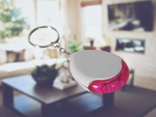 Okos kulcstartó - füttyre vagy tapsra hangot ad ki, így könnyen megtalálhatod kulcsodat