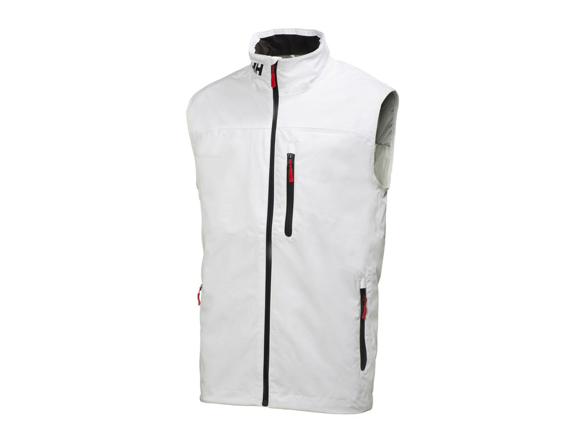 Helly Hansen CREW MIDLAYER VEST WHITE XXL (30341_001-2XL)