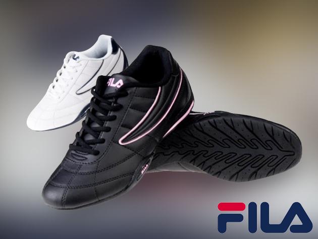 FILA Capri sportcipő férfiaknak 38 méretben, fekete színben - kaucsuk talp, textilbőr felsőrész