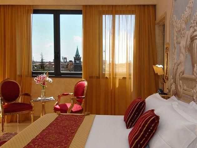 """RÓMAI ROMANTIKA! 3 nap/2 éj Rómában reggelivel, 2 fő részére: Romanico Palace Hotel Rome****-""""economy"""" ajánlat"""