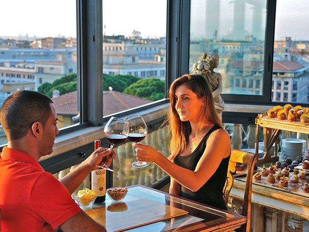 """RÓMAI ROMANTIKA! 4 nap/3 éj Rómában reggelivel, 2 fő részére: Romanico Palace Hotel Rome****-""""economy"""" ajánlat"""