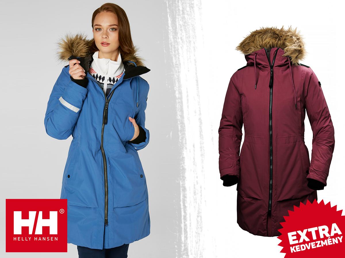 Helly Hansen W NORDKAPP PARKA női kabát Helly Tech® Protection technológiával - teljesen vízálló, szélálló, lélegző anyag, sportosan nőies fazon