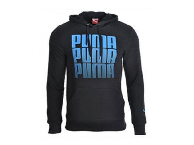 Puma BPPO Hooded férfi fekete-kék felső - L