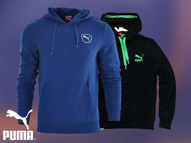 Puma férfi felsők XS-XXL méretben: kapucnis, kenguruzsebes és végig cipzáras változatok - minőségi sportruházat kedvező áron