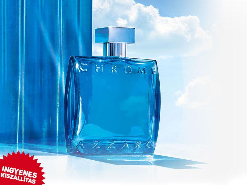 Azzaro - Chrome EDT férfiaknak (100ml) ingyenes kiszállítással / friss, citrusos illat