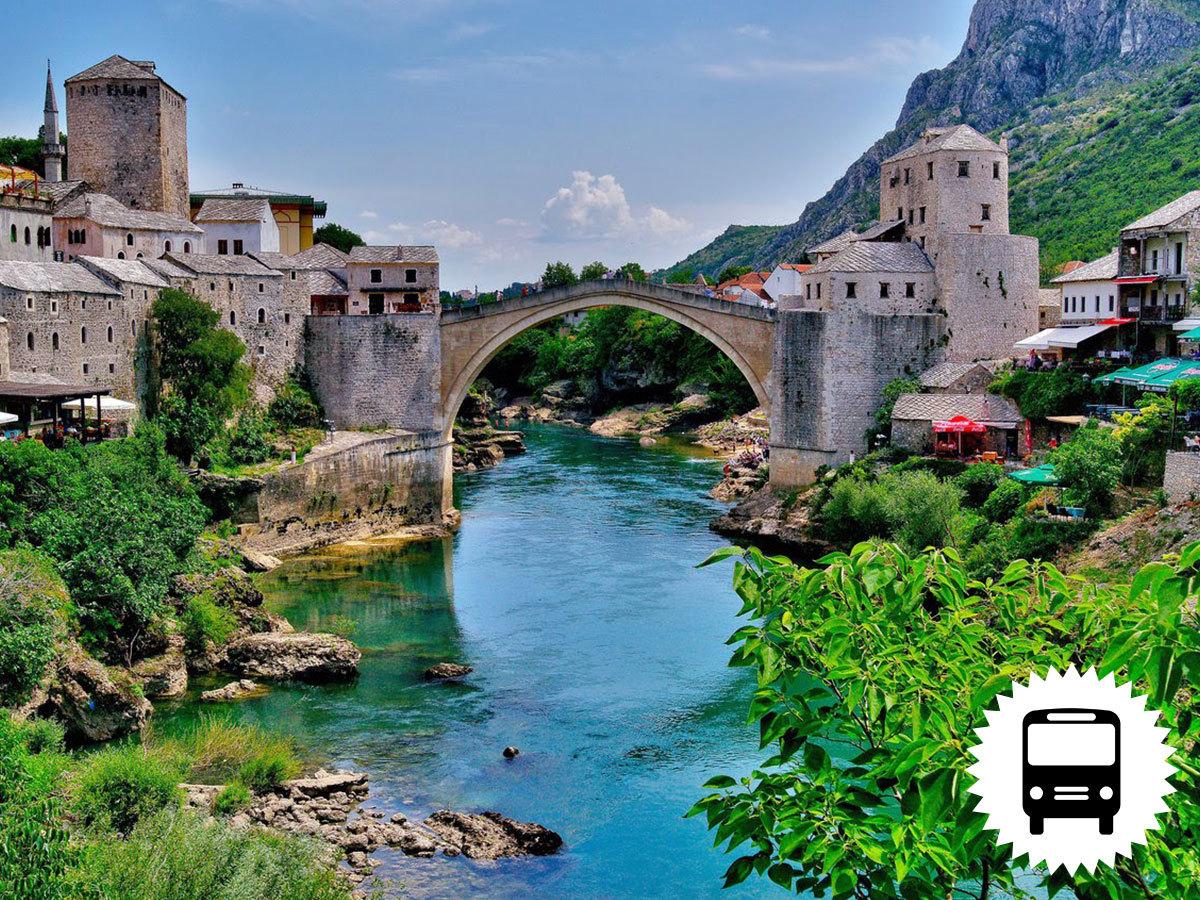 Boszniai körutazás - a legszebb karaván városok és a Neretva völgye 4 nap 3 éj busszal és reggelivel május 17-20. / fő