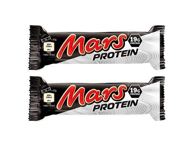 2 db Mars protein szelet 57 gramm