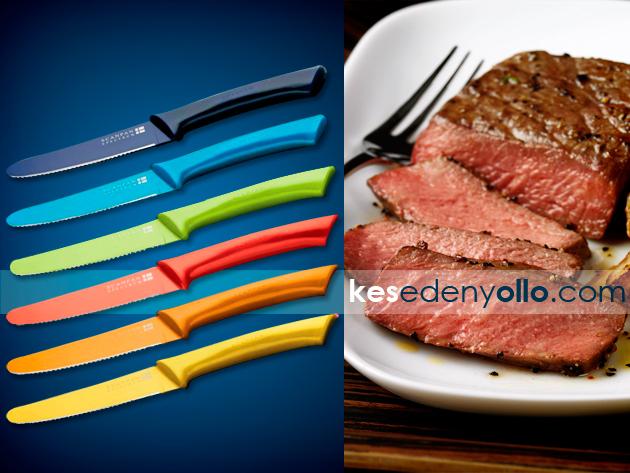 A ScanPan steak késekkel és villákkal nem okoz többé gondot a steakek felvágása
