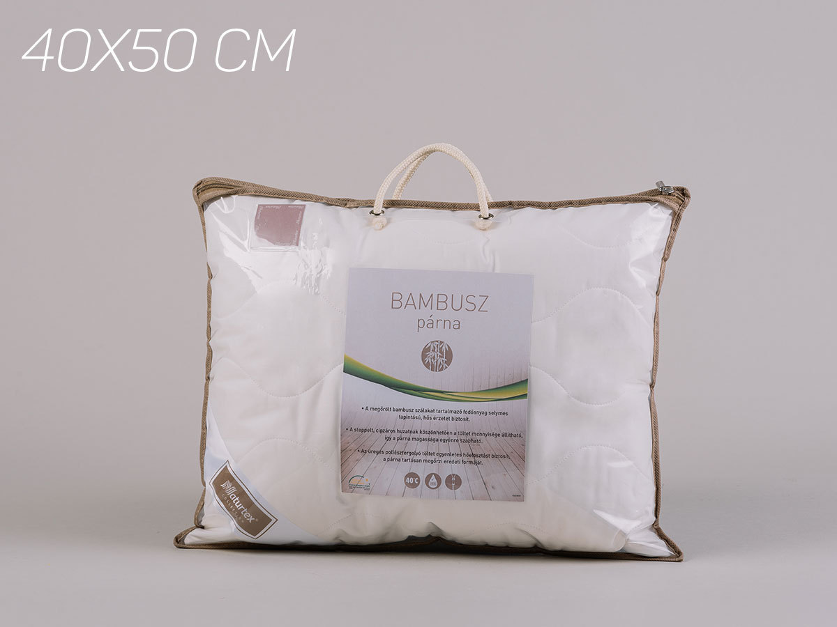 Bamboo kispárna (40x50) 300g