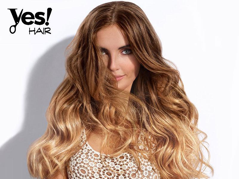 Copacabana melír hajvágással bármely hajhosszra senior mesterfodrásztól a Yes Hair Szalonban / II. kerület
