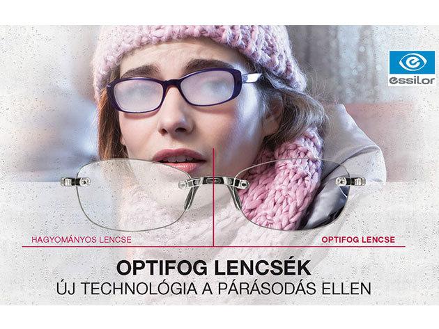 Optifog szemüveglencsék - új technológia a párásodás ellen