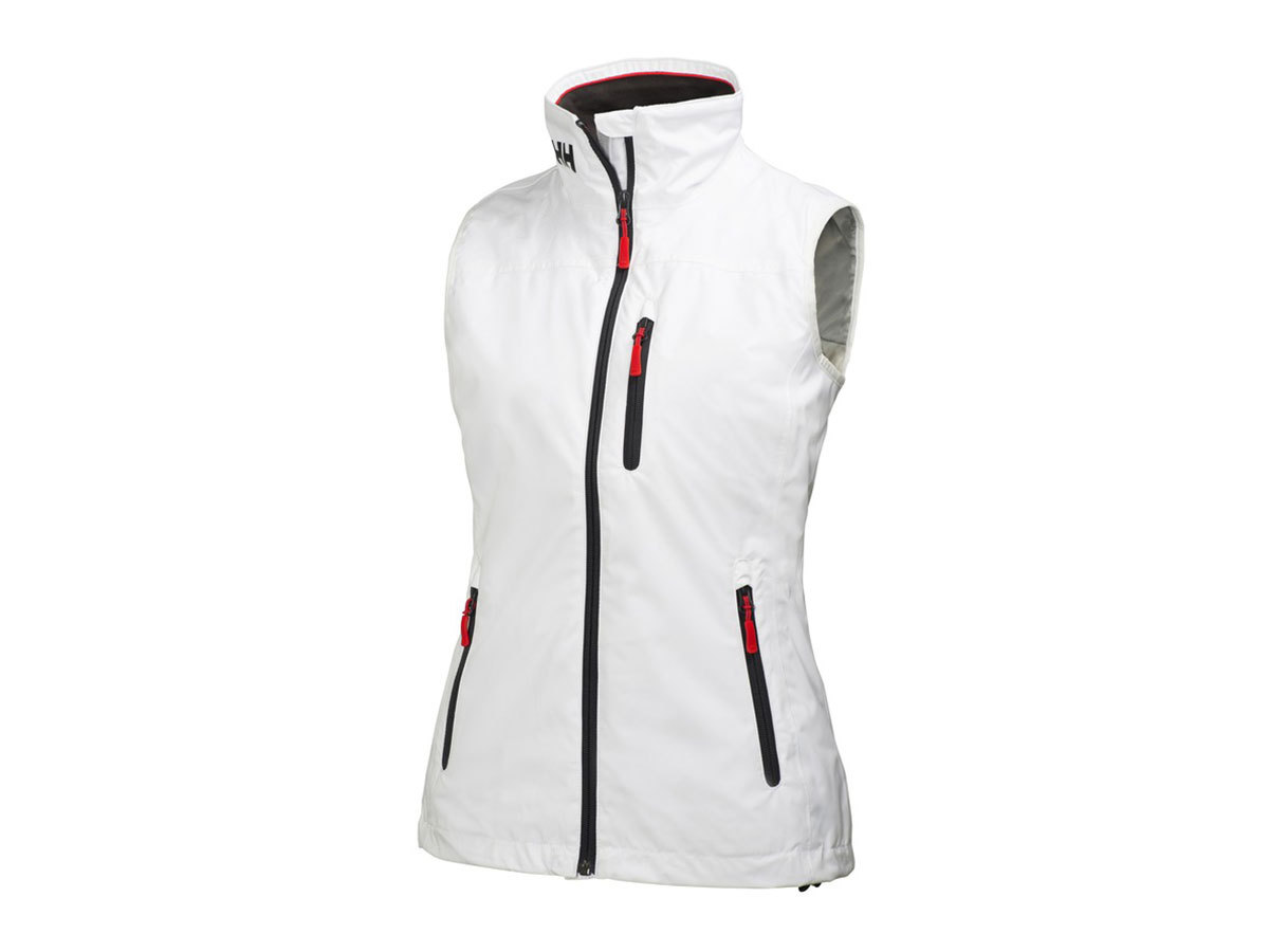 Helly Hansen W CREW MIDLAYER VEST WHITE XL (31334_001-XL)