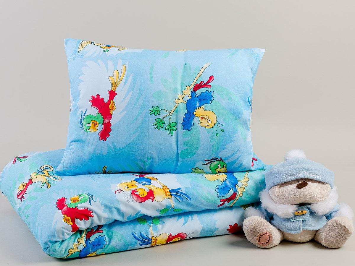 Gyermek ágyneműhuzat/Parrots 5998306366645