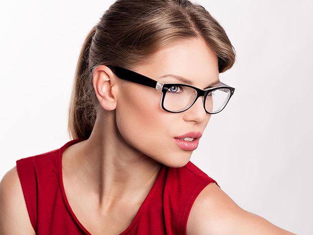 Komplett szemüvegkészítés szemvizsgálattal, 1,5-ös törésmutatójú UV SZŰRŐS encsével, 150 választható kerettel