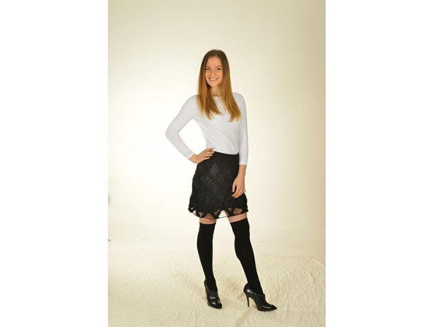 Antea szoknya - fekete - 34