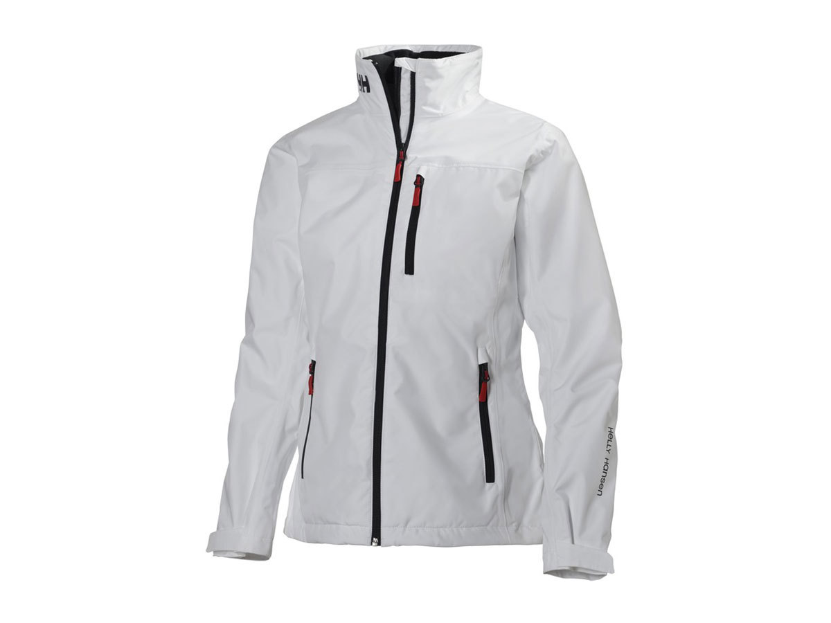 Helly Hansen W CREW MIDLAYER JACKET WHITE XS (30317_001-XS)