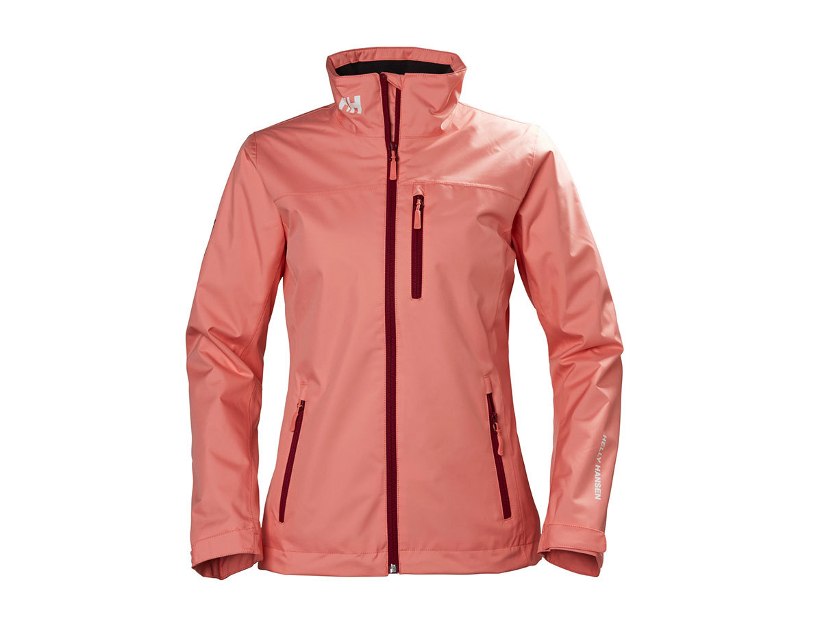 Helly Hansen W CREW MIDLAYER JACKET SHELL PINK XS (30317_103-XS)