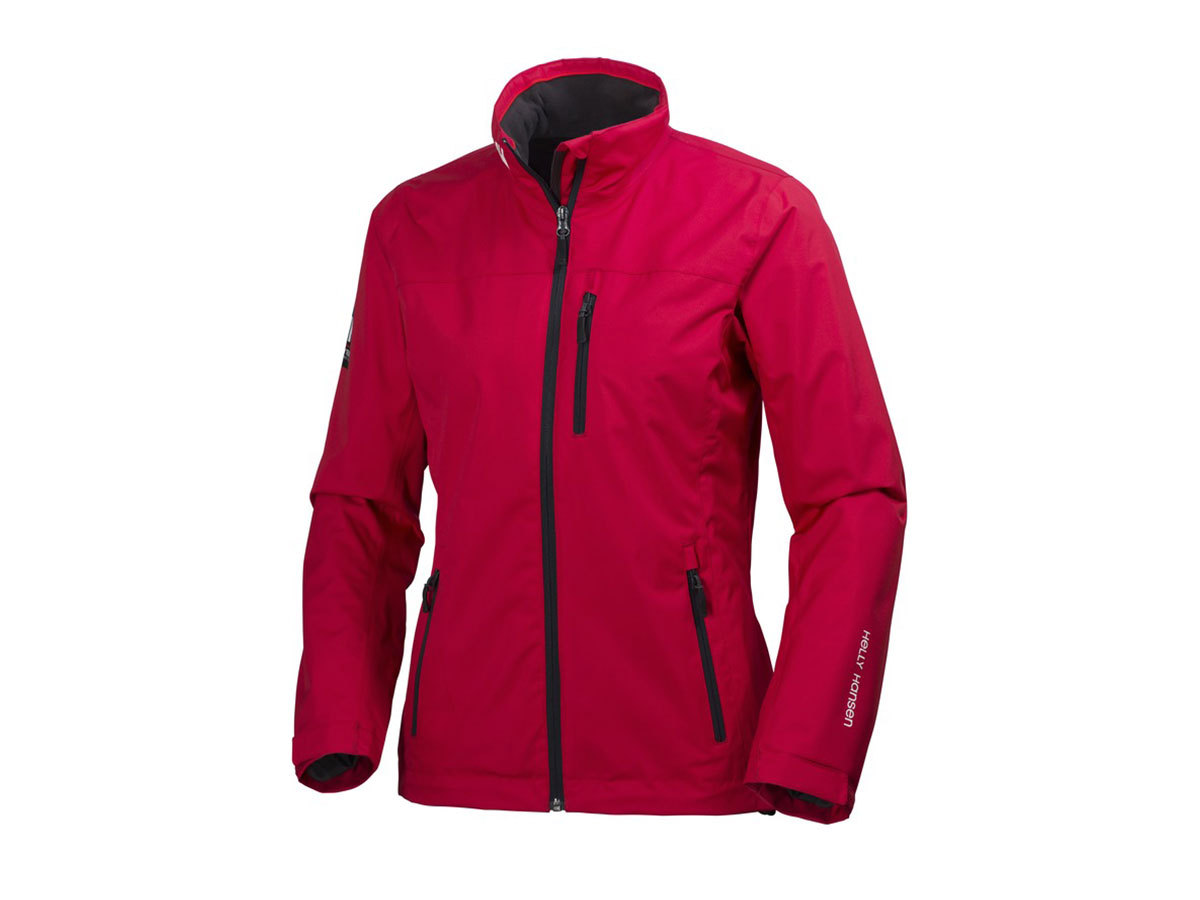 Helly Hansen W CREW MIDLAYER JACKET RED XS (30317_164-XS)