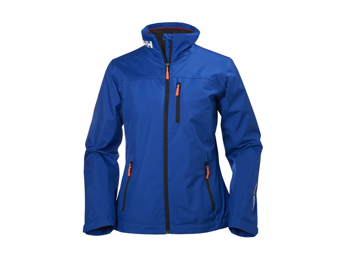 Helly Hansen W CREW MIDLAYER JACKET OLYMPIAN BLUE XL (30317_563-XL)
