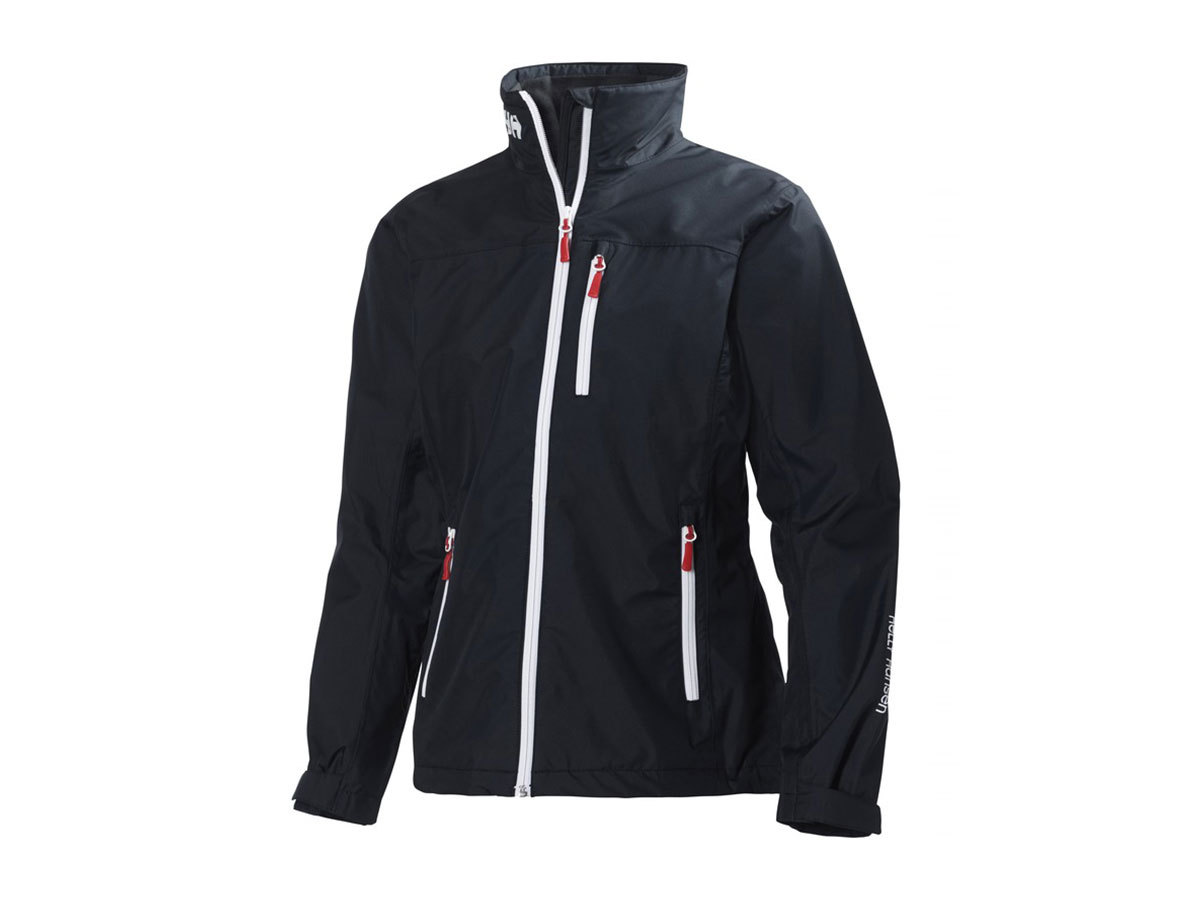Helly Hansen W CREW MIDLAYER JACKET NAVY XS (30317_597-XS)