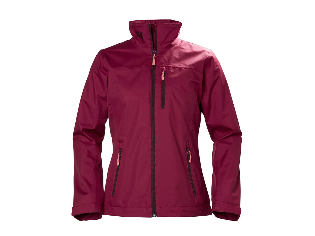 Helly Hansen W CREW MIDLAYER JACKET PLUM XS (30317_655-XS)