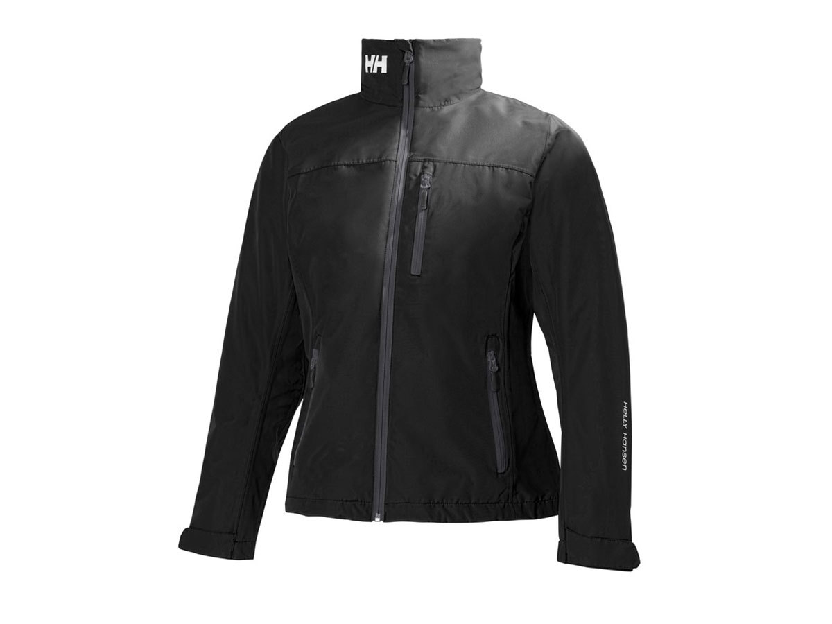 Helly Hansen W CREW MIDLAYER JACKET BLACK S (30317_990-S)