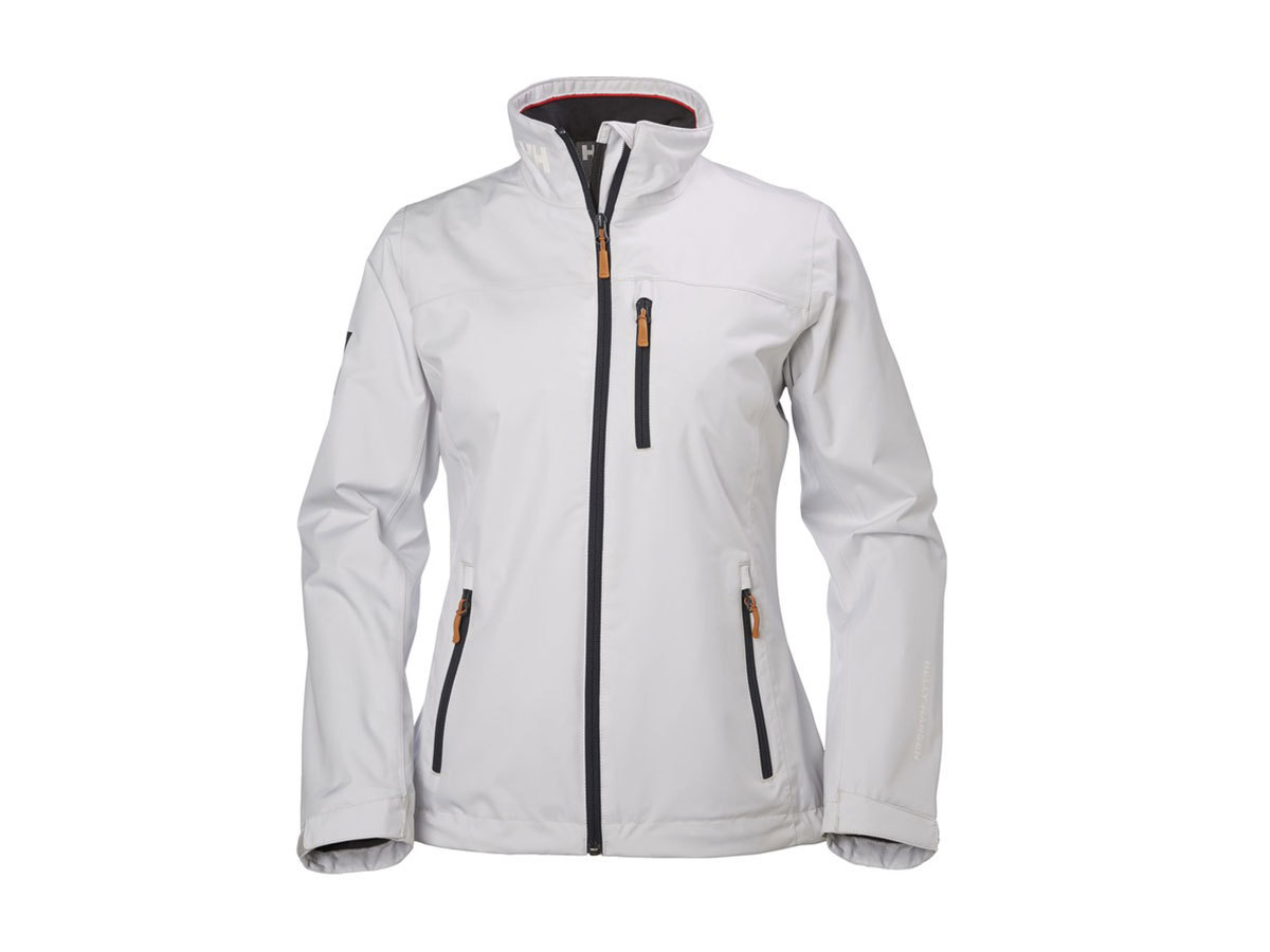 Helly Hansen W CREW MIDLAYER JACKET NIMBUS CLOUD M (30317_823-M)