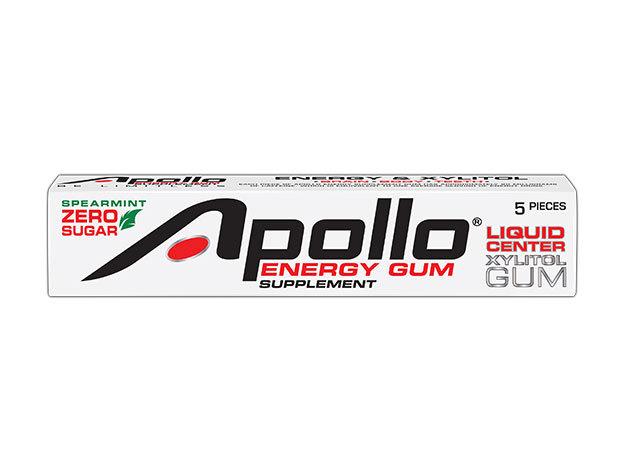 Apollo Energy Gum- A jövő egészséges, hordozható energiaforrása (1 csík 5 db)