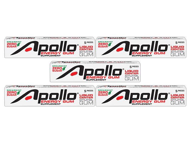 Apollo Energy Gum- A jövő egészséges, hordozható energiaforrása (5 csík=25 db)