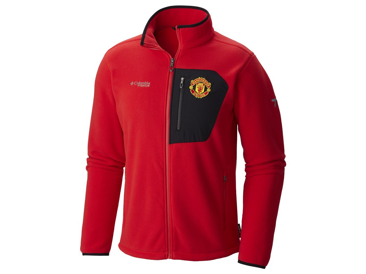 Titan Pass 2.0 Fleece Jacket (646-Cherrybomb) Manchester United - M - 1730701-p