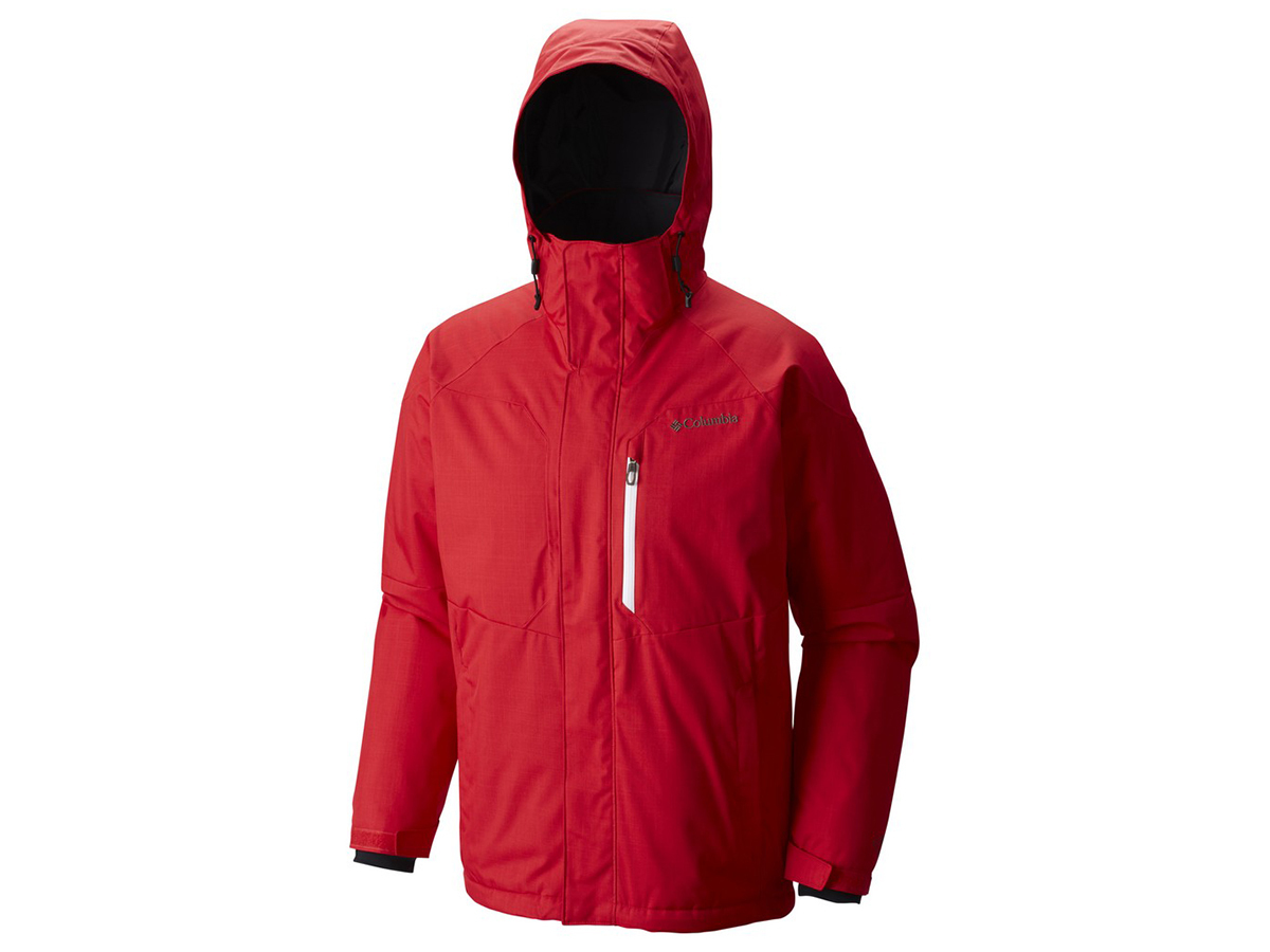 Alpine Action Jacket (613-Mountain Red) - M - 1562151-p