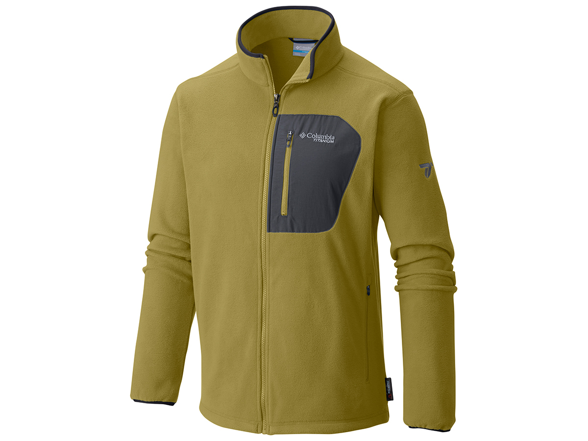 Titan Pass 2.0 Fleece Jacket (780-Peppercorn) - M - AO3095-r