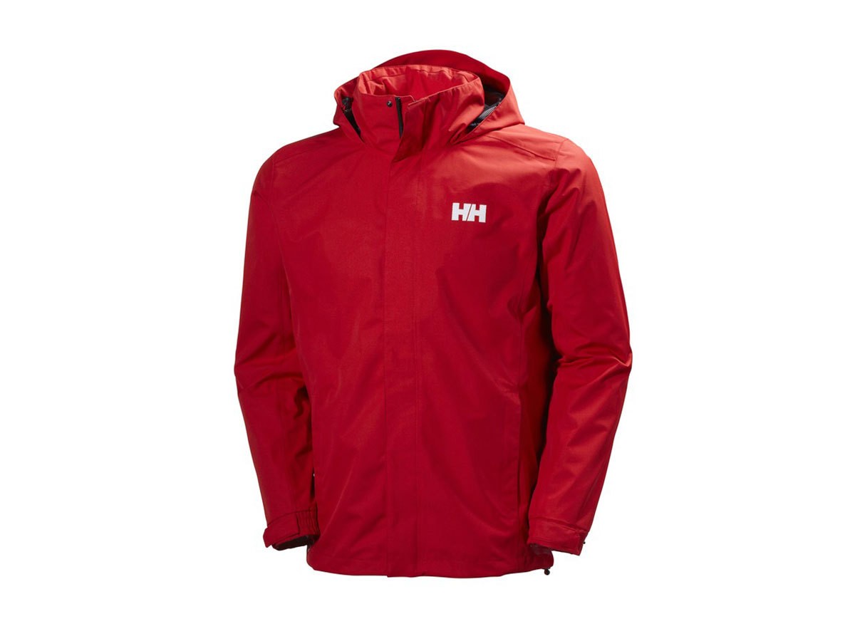 Helly Hansen DUBLINER JACKET FLAG RED XXXXL (62643_110-4XL)