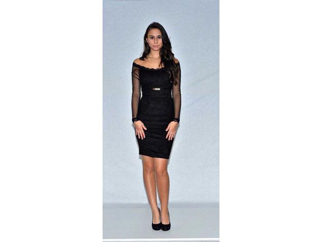 Carmen ruha - fekete - 34