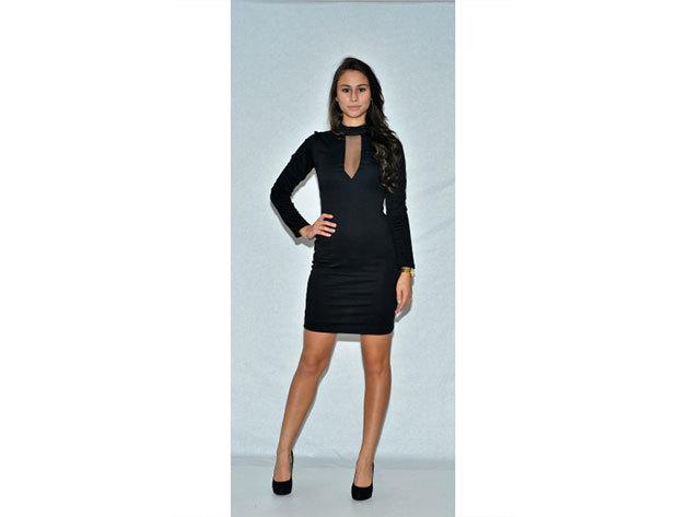 Kata ruha - fekete - 34