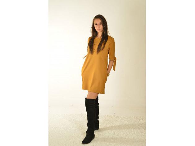 Segoria ruha - mustársárga - 34